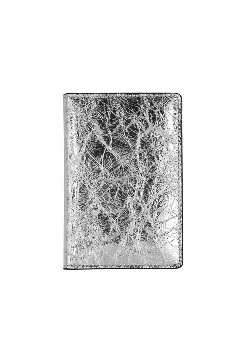 MAISON MARGIELA Silver Flip Card Holder 0