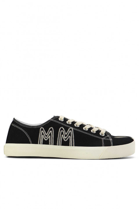 MAISON MARGIELA Black Stitch MM Tabi Sneakers 0