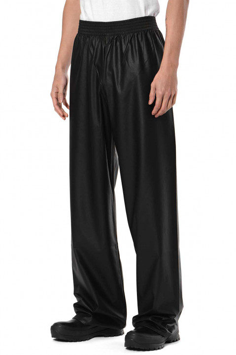RAF SIMONS ARCHIVE REDUX Fake Leather Trackpants  0