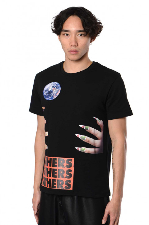 RAF SIMONS ARCHIVE REDUX Graphic Nails T-shirt 0