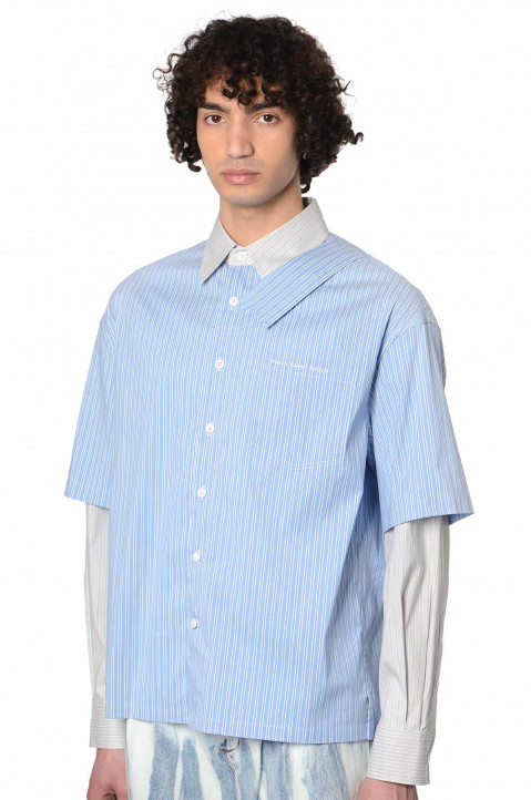 FENG CHEN WANG Offset Collar Shirt  0