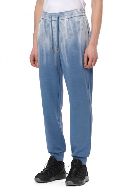 FENG CHEN WANG Tie-Dye Blue Sweatpants 0
