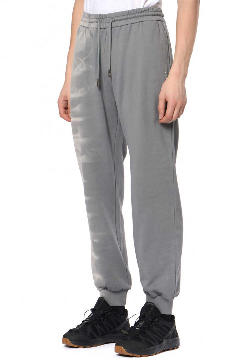 FENG CHEN WANG Tie-Dye Grey Sweatpants  0