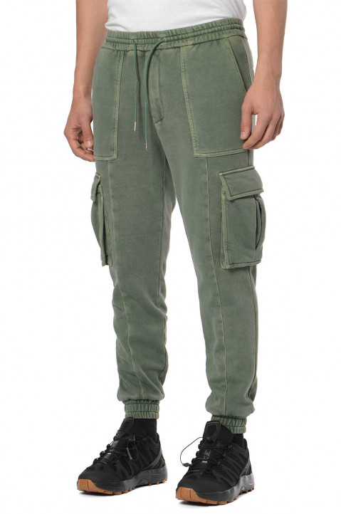 JUUN.J Green Cargo Sweatpants  0