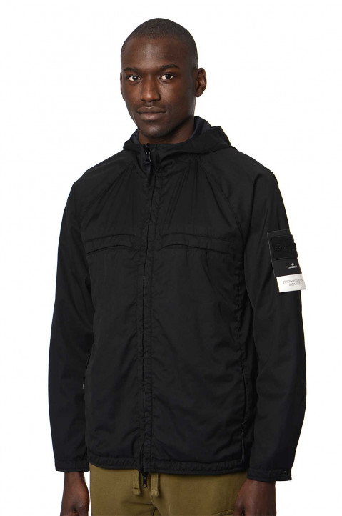 STONE ISLAND Ghost Black Reversible Jacket  0