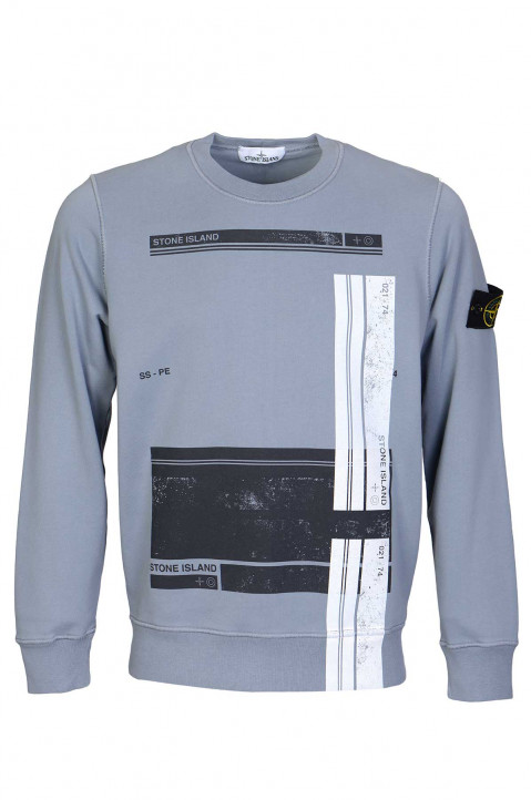 STONE ISLAND Block Graphic Sweatshirt 0