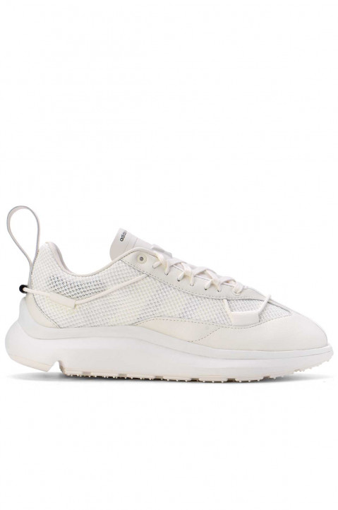 Y-3 Shiku Run White Sneakers 0