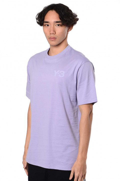 Y-3 Classic Chest Logo Lilac Tee 0