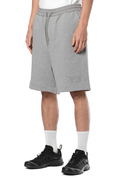 Y-3 Classic Terry Grey Shorts  0