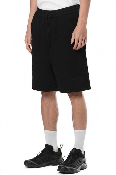 Y-3 Classic Terry Black Shorts  0
