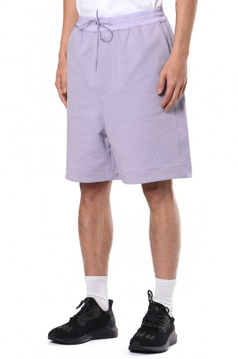 Y-3 Classic Terry Lilac Shorts  0