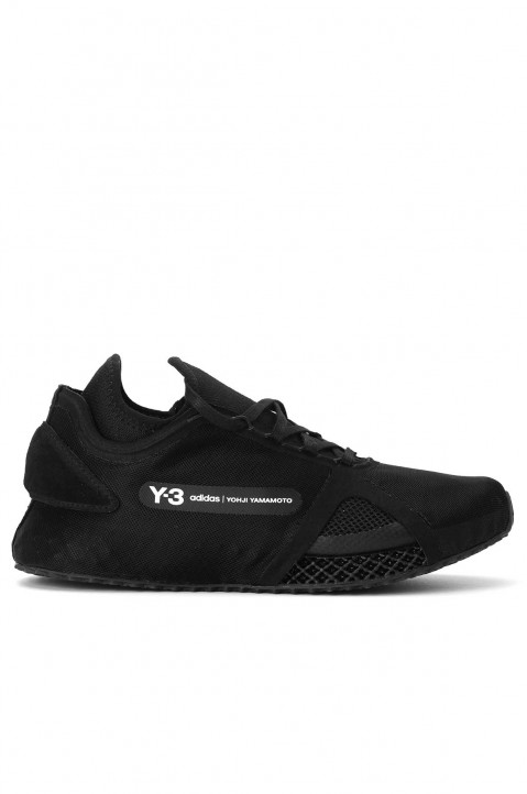 Y-3 Runner 4D IOW Black Sneakers 0