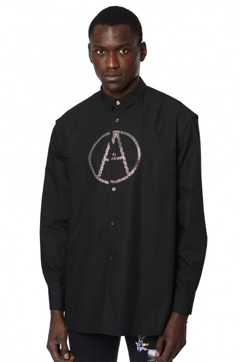 KIDILL Anarchy Black Shirt  0