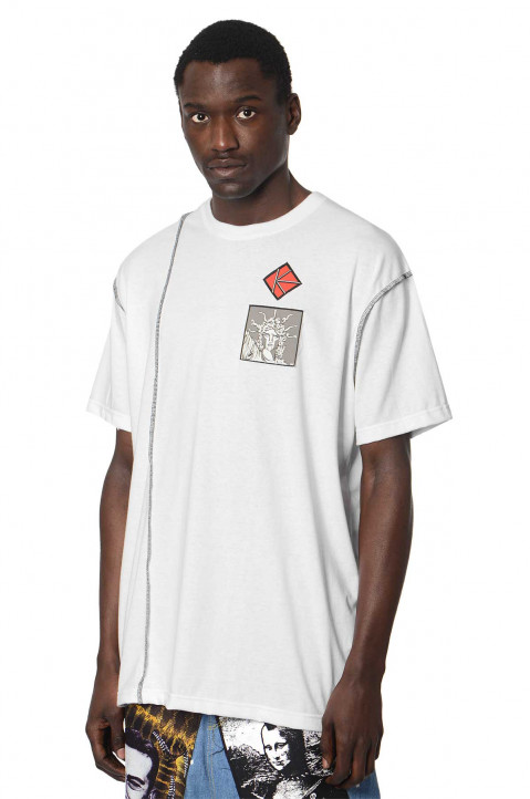 KIDILL X WINSTON SMITH White Tee  0