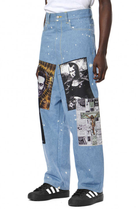 KIDILL X WINSTON SMITH Patch Jeans 0