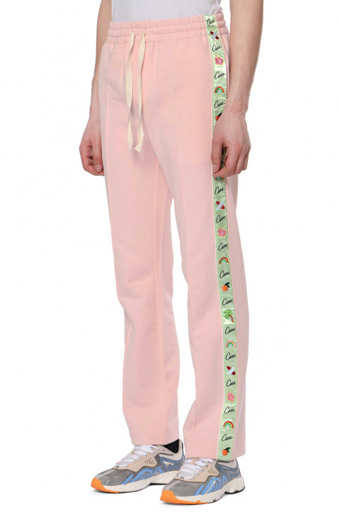 CASABLANCA Hawaii Pink Track Trousers  0