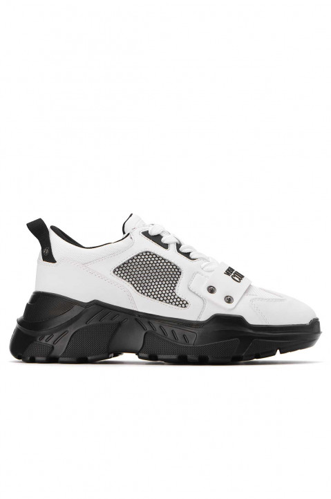 VERSACE JEANS COUTURE Linea Fondo Speed White Sneakers  0