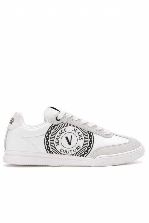 VERSACE JEANS COUTURE Linea Fondo Open White Sneakers 0