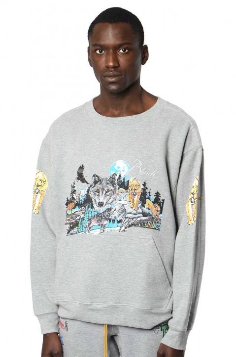 RHUDE Winter Wolf Sweatshirt  0