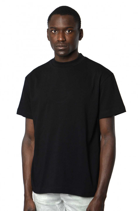 QUE LA FAMILLE 3D Hearth Black Tee 0