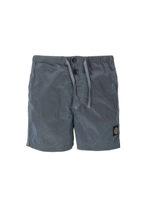 STONE ISLAND Mid Blue Swim Shorts 0