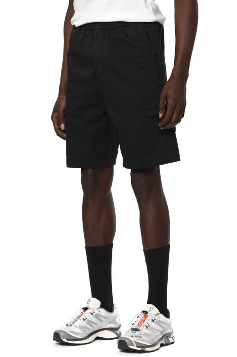 STONE ISLAND Ghost Black Bermuda Shorts 0