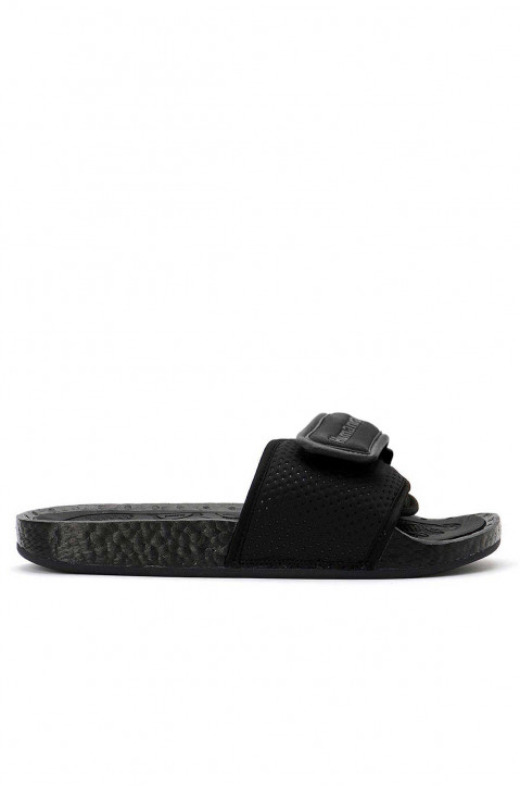 ADIDAS X PHARRELL WILLIAMS HU Triple Black Boost Slides 0