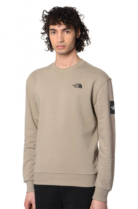 THE NORTH FACE Graphic Box Mineral Grey Sweatshirt 0