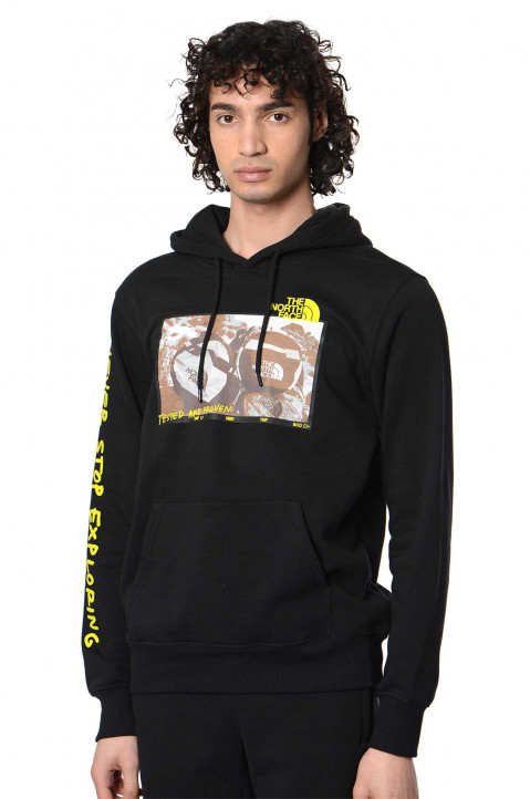 THE NORTH FACE Coordinates Black Hoodie  0