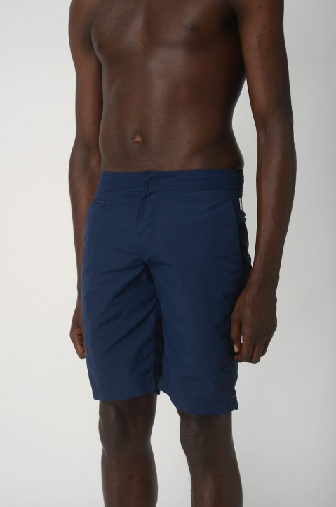 OLEBAR BROWN Dane Navy Shorts 1