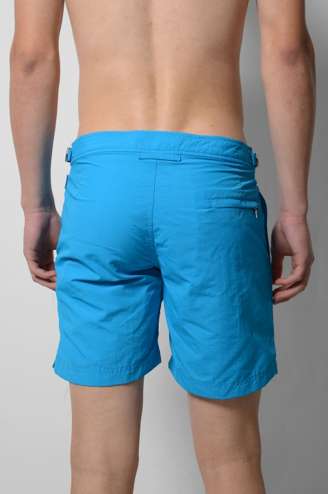 OLEBAR BROWN Setter Turquoise Shorts  3