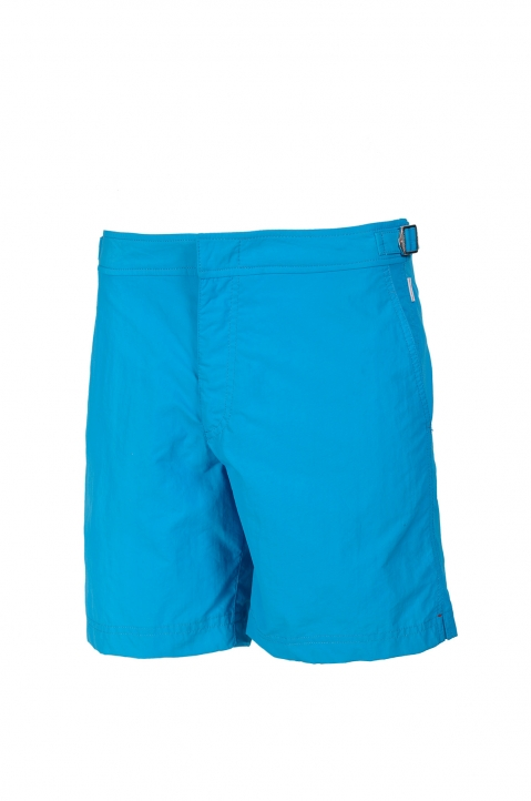 OLEBAR BROWN Setter Turquoise Shorts  0