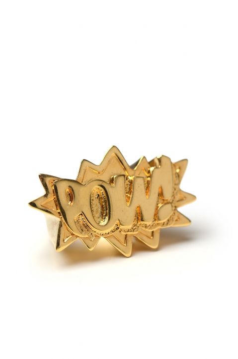 POW! Gold Ring 0