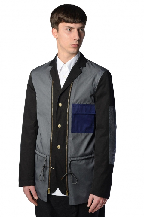 MARNI Colourblock Reversible Jacket 0