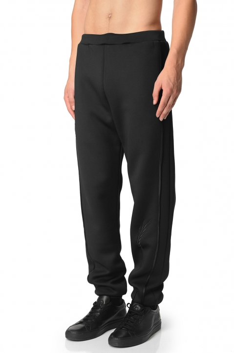 COTTWEILLER Wheat Black Sweatpants 0