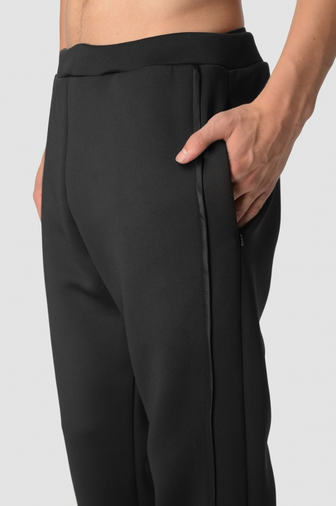 COTTWEILLER Wheat Black Sweatpants 3
