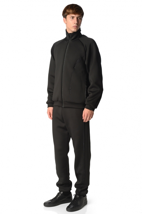 COTTWEILLER Wheat Black Sweatpants 5