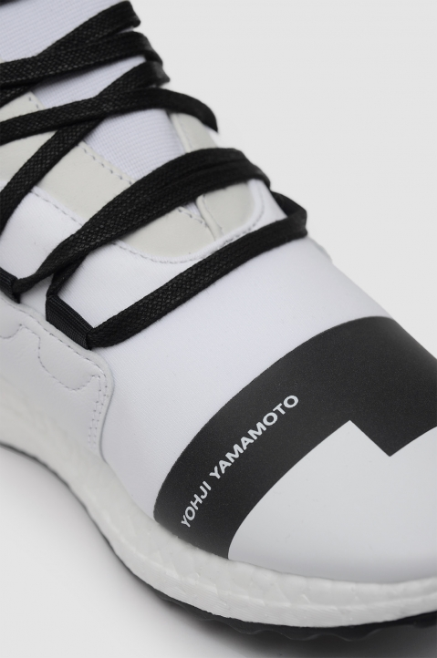 Y-3 Kozoko White High-Top Sneakers Boost 2