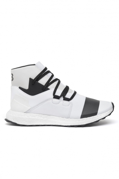 Y-3 Kozoko White High-Top Sneakers Boost 0