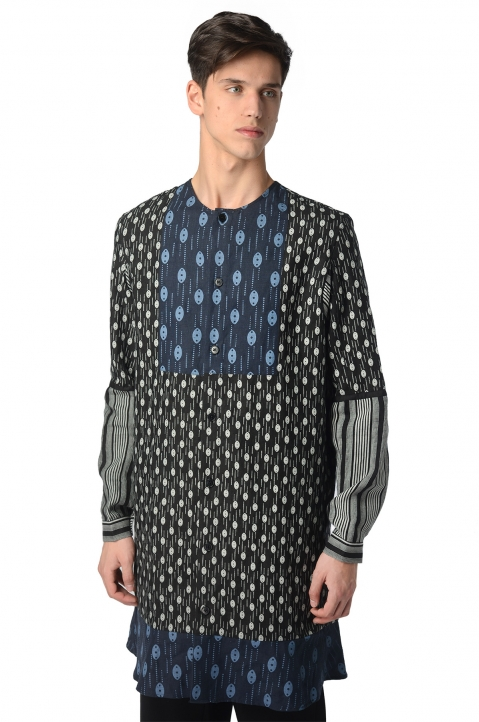 J.W.ANDERSON Printed Tunic-Jacket 0