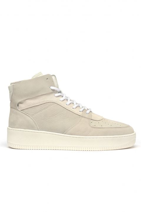 AIMÉ LEON DORE Q44 Grey High-Top Sneakers 0
