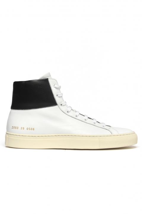 COMMON PROJECTS Achilles Retro High White Sneakers 0