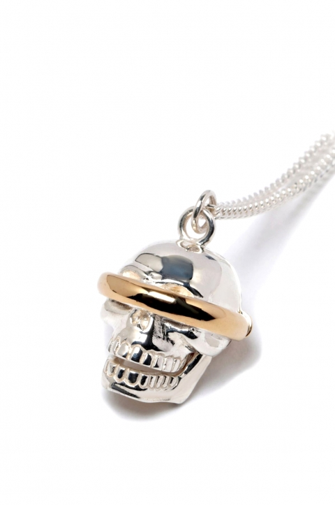 AMBUSH SSS Skull Charm Necklace 0