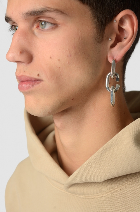 AMBUSH SSS Cut Chain Earring 2 2