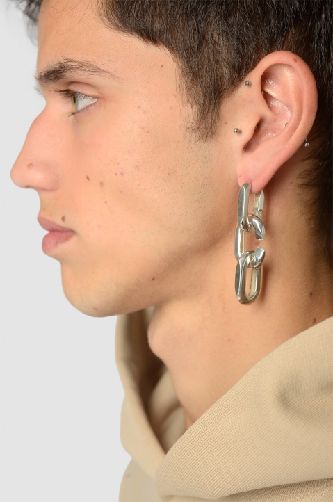 AMBUSH SSS Cut Chain Earring 2 3