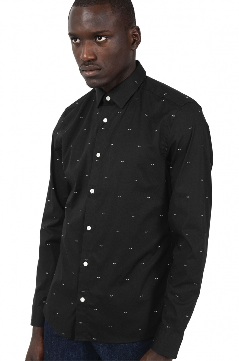 KENZO All Over Eyes Black Shirt 0