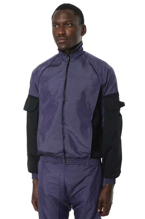 COTTWEILER Utility Purple Trackjacket 0
