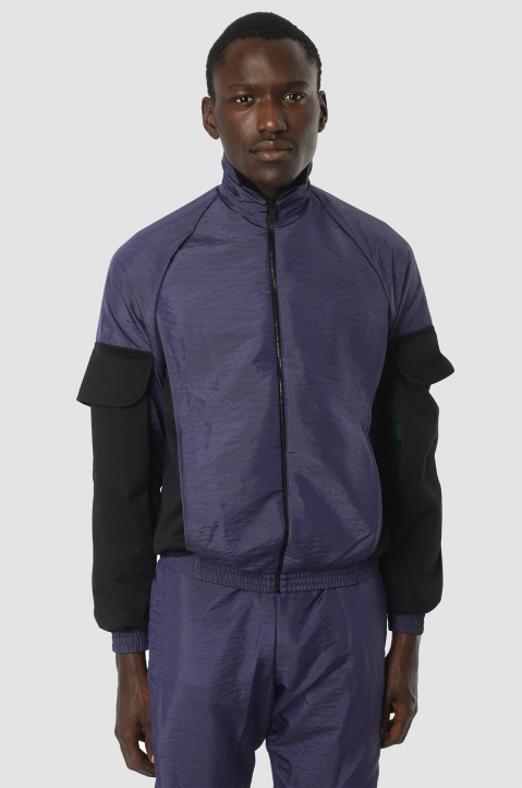 COTTWEILER Utility Purple Trackjacket 1
