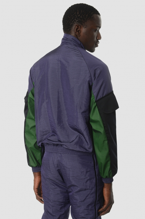 COTTWEILER Utility Purple Trackjacket 2