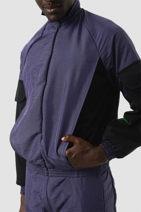 COTTWEILER Utility Purple Trackjacket 3